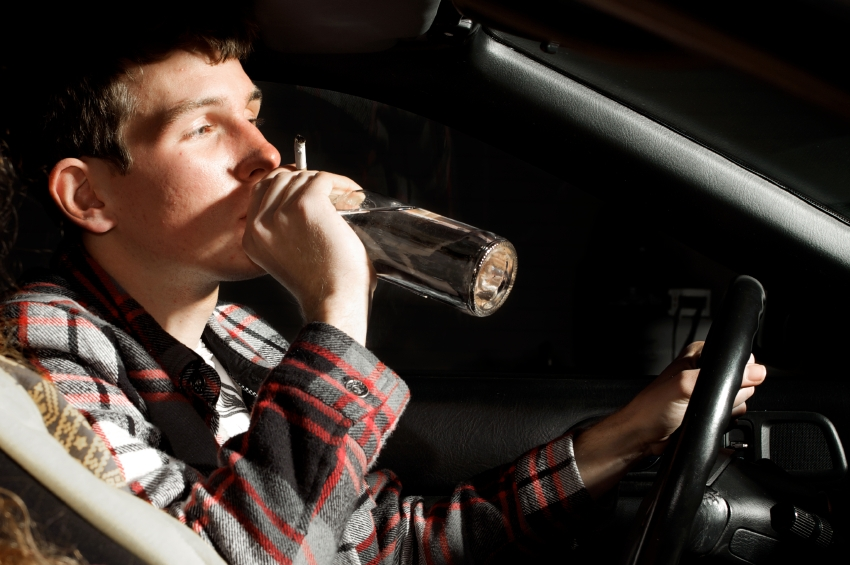 пиян шофьор подкара джип