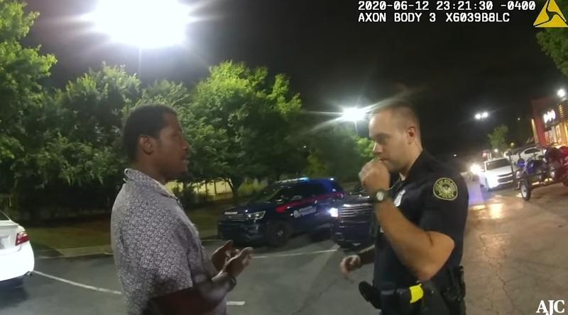 Камери заснели убийството на чернокож в Атланта през уикенда