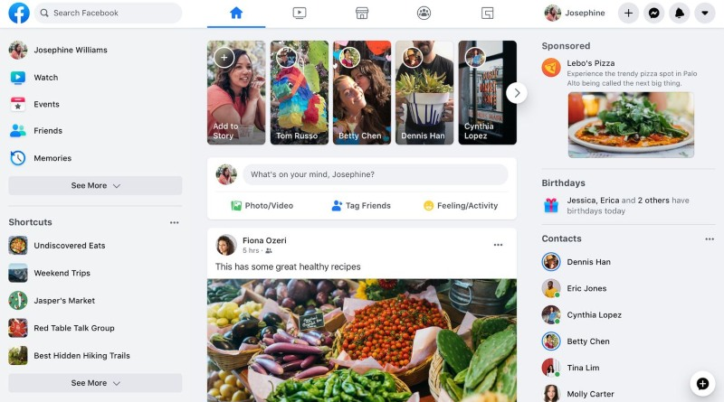 Нов Фейсбук ще замени класическият окончателно през Септември